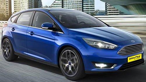 Ford Focus της κατηγορίας ενοικίασης μεγάλου αυτοκινήτων