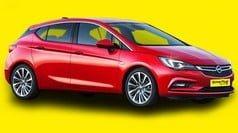Opel Astra - δείγμα της κατηγορίας αυτοκινήτων μεγάλου μεγέθους προς ενοικίαση