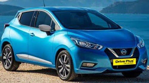 Nissan Micra της κατηγορίας ενοικίασης μεσαίου αυτοκινήτων
