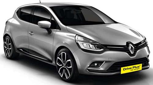 Renault Clio της κατηγορίας ενοικίασης μεσαίου αυτοκινήτων