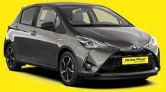 Toyota Yaris - δείγμα της κατηγορίας αυτοκινήτων μεσαίου μεγέθους προς ενοικίαση