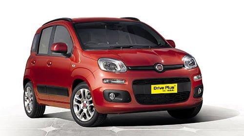 Fiat Panda της κατηγορίας ενοικίασης μικρών αυτοκινήτων