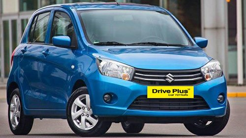 Suzuki Celerio της κατηγορίας ενοικίασης μικρών αυτοκινήτων