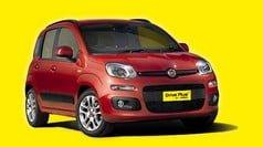 Fiat Panda - δείγμα της κατηγορίας αυτοκινήτων μικρού μεγέθους προς ενοικίαση