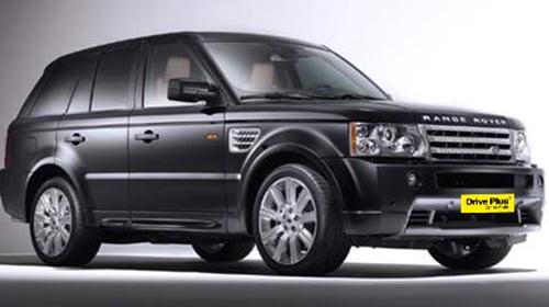 Range Rover της ειδικής κατηγορίας ενοικίασης αυτοκινήτων