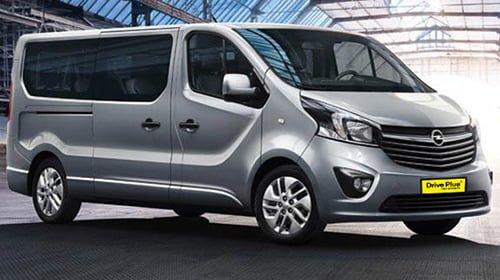 Opel Vivaro της κατηγορίας ενοικίασης Minibus
