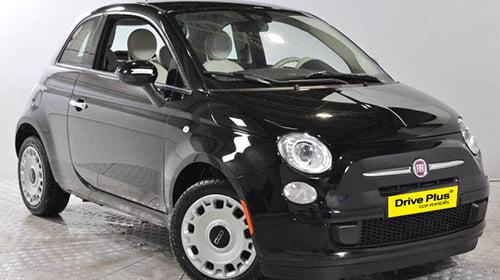 Fiat 500 της κατηγορίας ενοικίασης μικρών αυτοκινήτων